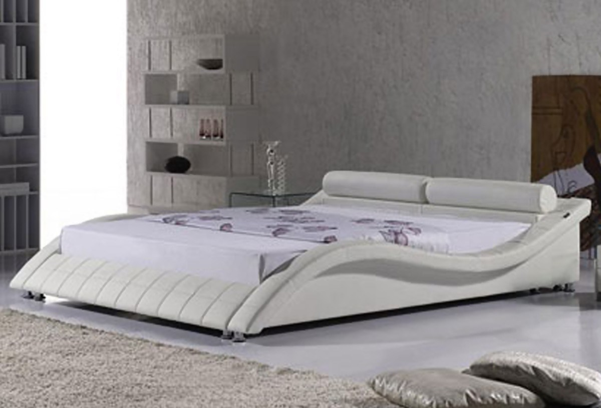 Lit design Prado 160 cm Blanc