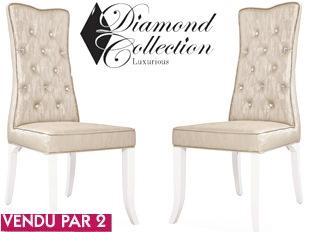Lot de 2 chaises gamme Diamond