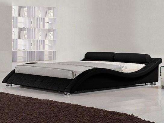 Lit design Prado 160 cm Noir