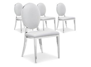 Chaises Design Sara Blanc VENDU PAR 4