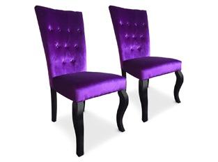 Chaises Elisabeth VENDU PAR 2 violet