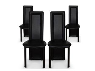 Chaises Design Curly Noir VENDU PAR 4