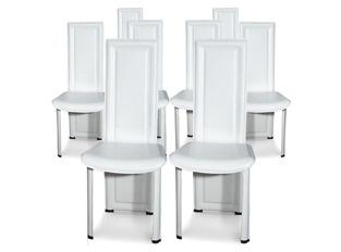 Chaises Design Curly Blanc VENDU PAR 8