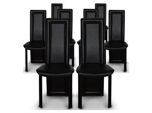 Chaises Design Curly Noir VENDU PAR 8