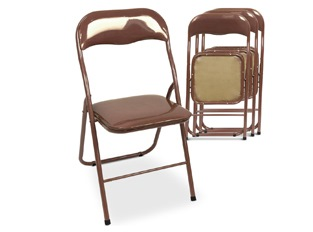 Chaises Design Buffy Marron VENDU PAR 4