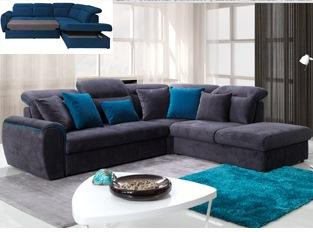 Canapé d'angle convertible design FINEZZO