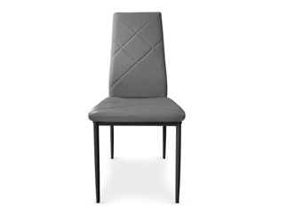 Lot de 8 Chaises Loto gris