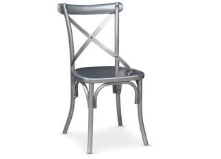 Chaises Angela métal