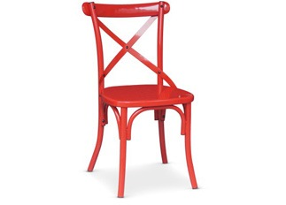 Chaises Angela rouge