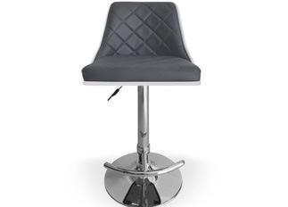 Chaise Design  Cl�op�tre Bois Blanc et Gris