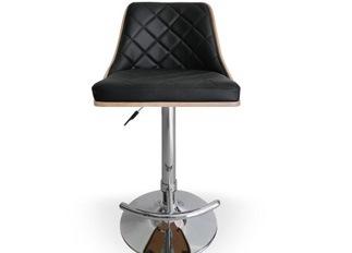 Chaise Design �Cl�op�tre Ch�ne Clair et Noir