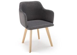Chaise Canada gris foncé