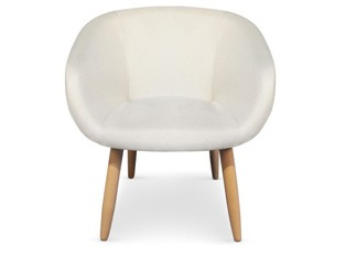 Chaise Frozen beige
