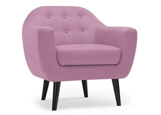 Fauteuil Caremelo Lilas