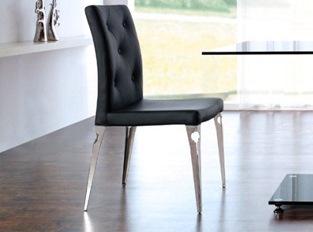 chaises design Valeur Noir VENDU PAR 2