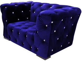 Fauteuil Royalfield bleu