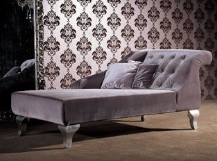 M�ridienne Chesterfield gris