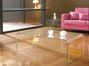 Table basse design Arte