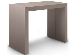 Table console taupe