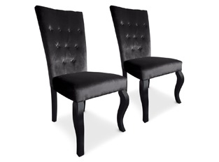 Chaises Elisabeth VENDU PAR 2 noir