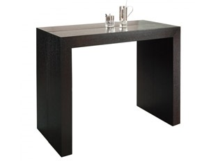Table console bois wengé
