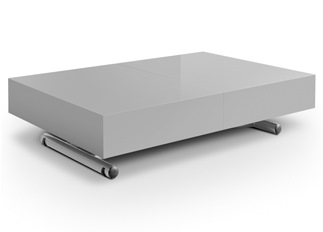 Table basse relevable Casper gris
