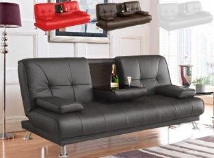 Canapé design convertible avec bar
