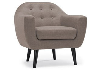 Fauteuil Caremelo Taupe
