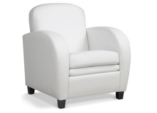 Fauteuil Domino blanc
