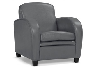 Fauteuil Domino gris