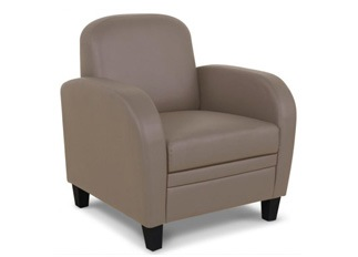 Fauteuil Domino taupe