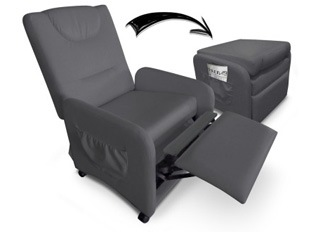 Fauteuil relax Brice Gris