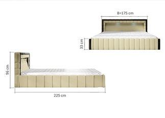 Lit LED design LAGON beige 140 cm