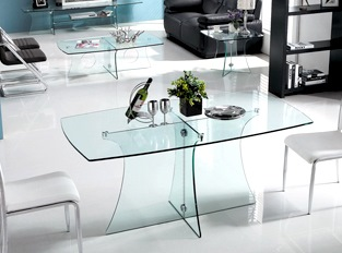 Table à manger Royal transparent