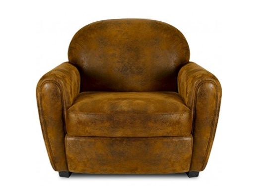 Canapés 1-2-3 places aspect cuir vieilli