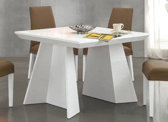 table console design vspace blanc. Black Bedroom Furniture Sets. Home Design Ideas