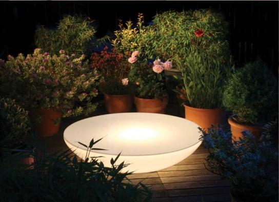 Table basse lumineuse Variation Outdoor