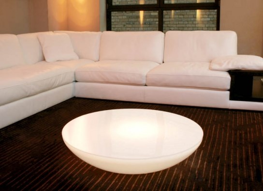 Table basse lumineuse variation Indoor