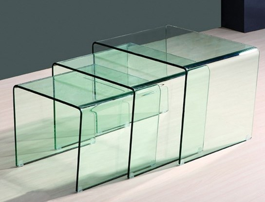 table basse gigogne cube transparent. Black Bedroom Furniture Sets. Home Design Ideas