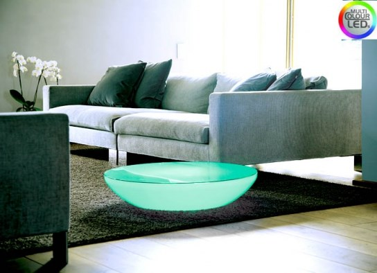 Table basse lumineuse variation � LED Indoor