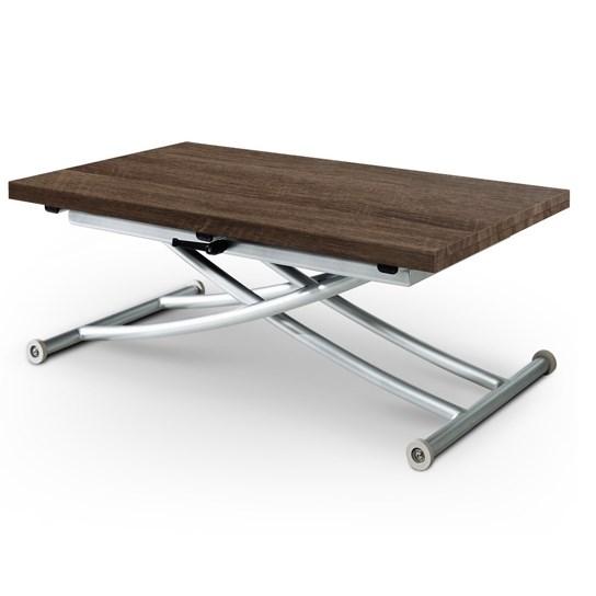 avec un plateau en bois