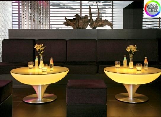 Table basse 45 d'intérieur à LED