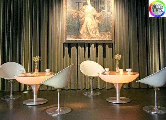 Table basse 55 d'intérieur à LED