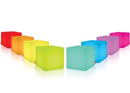 Cube lumineux pour un usage intérieur
