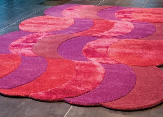 Tapis Purple Jam 160 x 230 cm