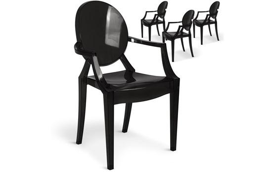 Chaise design en PVC