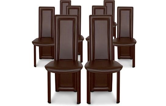8 chaises de salle à manger modernes