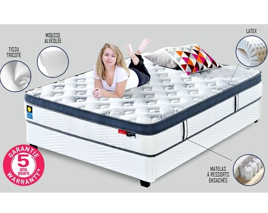 Matelas Latex 140x190 Star Confort
