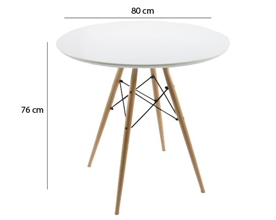 Table ronde style scandinave - Table ronde cocktail scandinave ...
